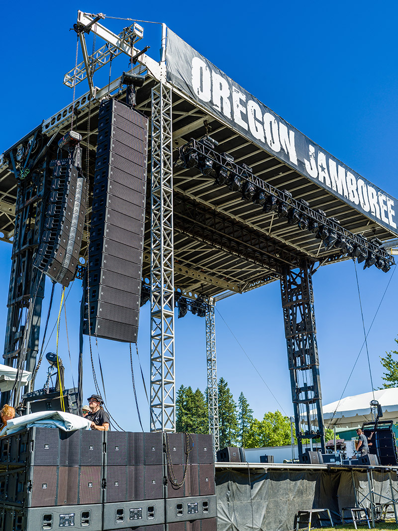 Oregon Jamboree Features Country Music and Morgan Sound