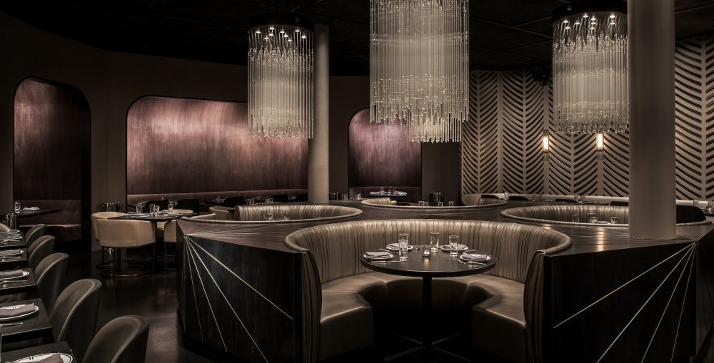 Owned by Sancerre Hospitality, BLVD was the Chicago 2017 Eater Award Winner for Design of the Year.