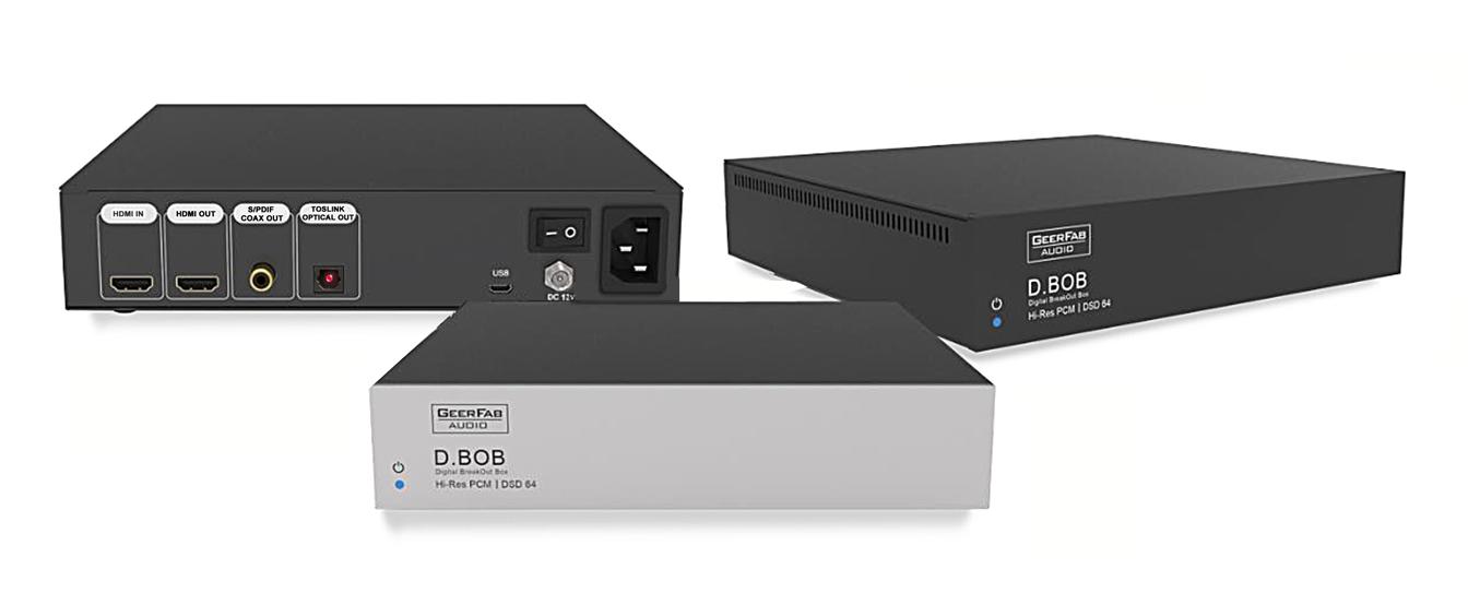 D.BOB (Digital BreakOut Box) from GeerFab Audio
