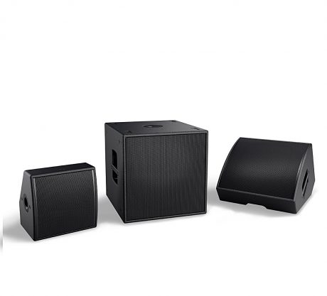 AMM multipurpose loudspeakers and companion AMS115 multipurpose subwoofer offer the output, flexibility and clarity needed to provide optimal coverage angles for font-of-house, monitor and fill applications.