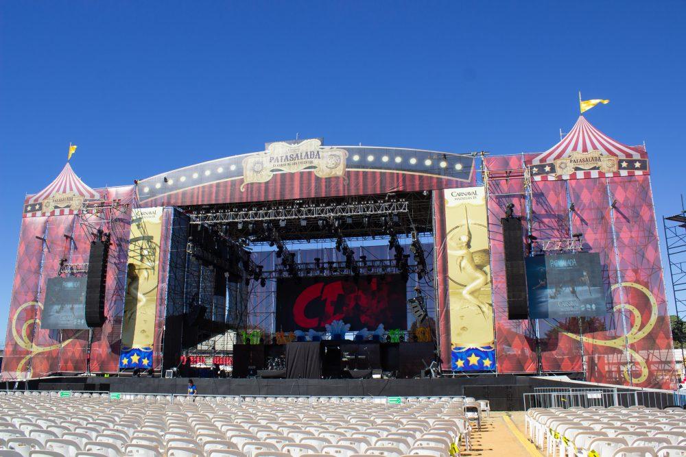Producciones Lemus supplied equipment for Carnaval de Mazatlán