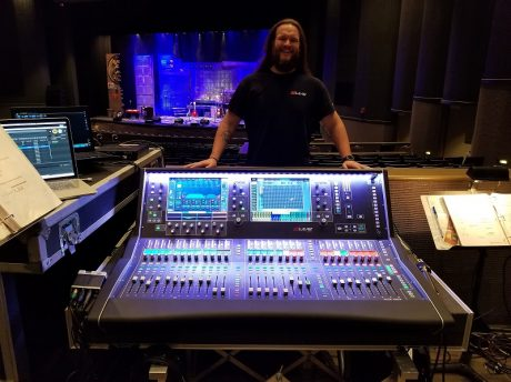 Chris Wilson at the dLive S5000