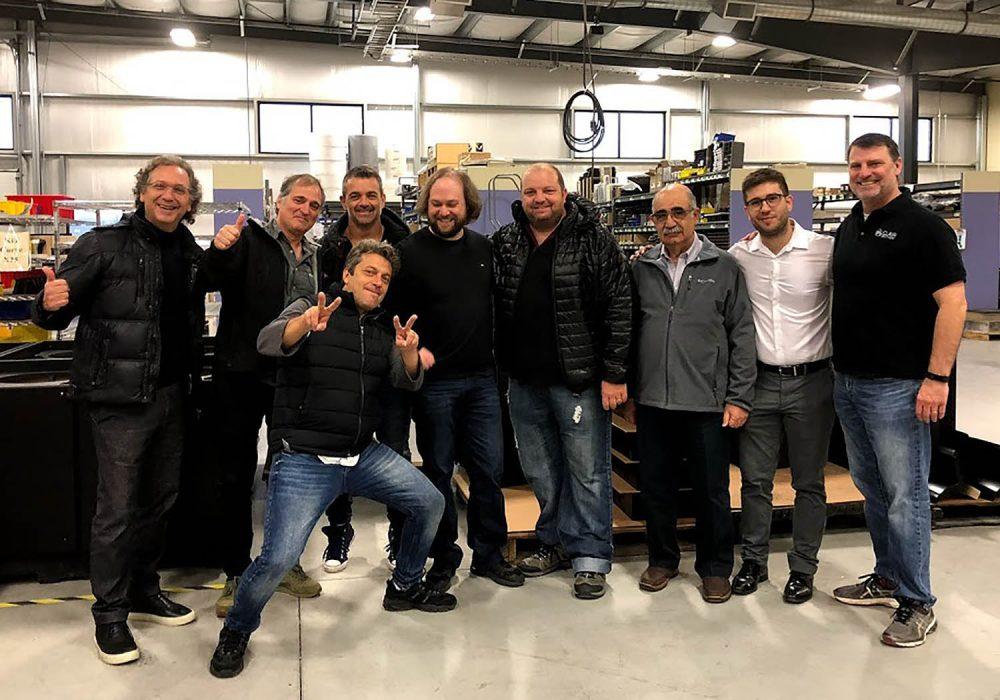 from left to right: Fabian Valle, Ricardo Pegnotti, Nicolas Bitthof, Josh Sadd, Gustavo Costantino, Mariano Simonetta, Domingo Simonetta, Henry Hissrich, (front) Fabian Giordano)