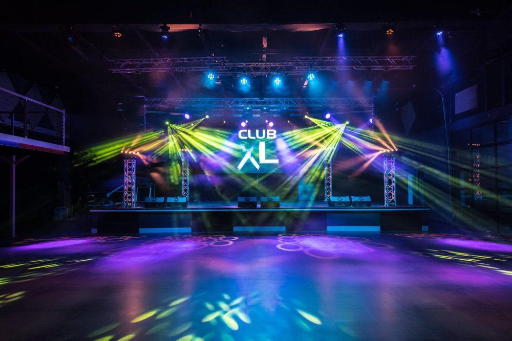Club XL stage logo