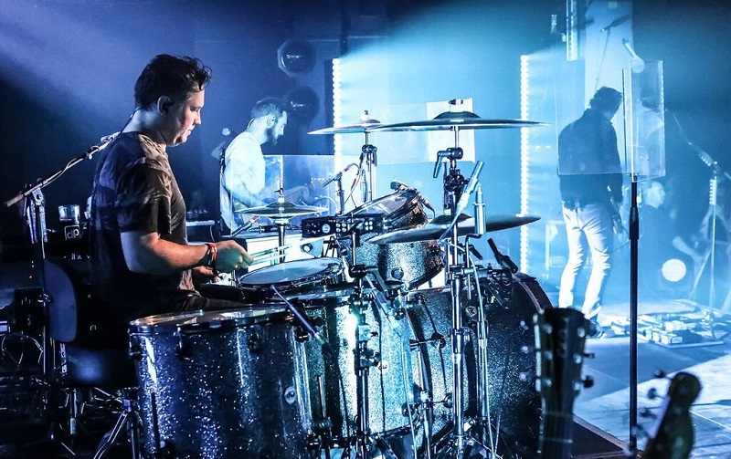 Monitor Engineer Jamie Hickey is Using DPA mics on Drums and Vocals for all the Band's Live Concerts and TV Promos