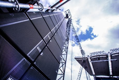 In the hands of Sound Design Ireland, the STM Series modular line array has scored a high-profile success for the Festival of Families event in Dublin, addressed by the Pope himself.