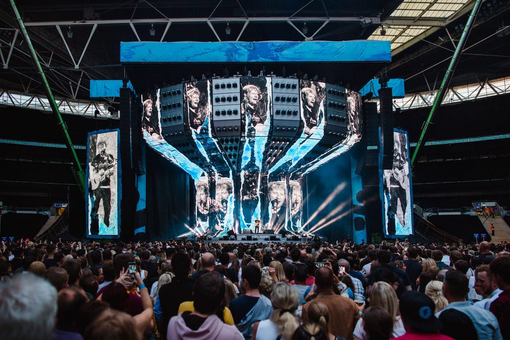 The DiGiCo SD7 console is helping Chris Marsh create an intimacy between Ed Sheeran and his audience even in the most massive stadiums