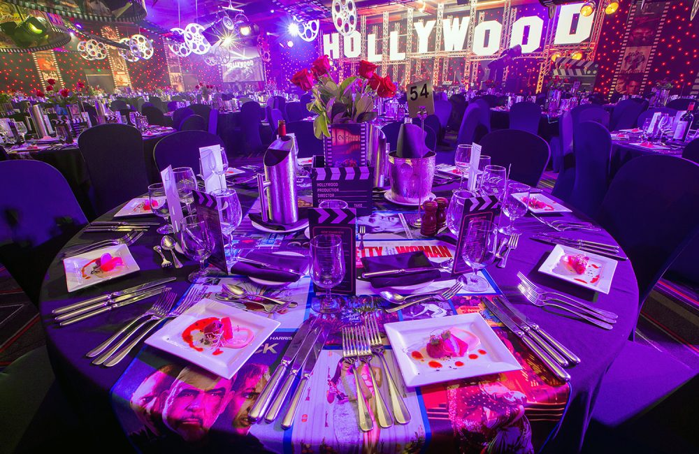 A recent Hollywood-themed event put on by Dreamweavers and their Clair Brothers kiTCurve system.
