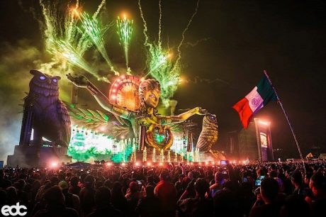 The stage was as impressive as it was grand; PK's loudspeakers were tucked in amongst fire effects and fireworks, water fountains and laser features, and gigantic inflatable art, it was a true sight to behold.