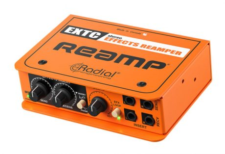 Radial EXTC Stereo Guitar Effects Interface/Reamp Box