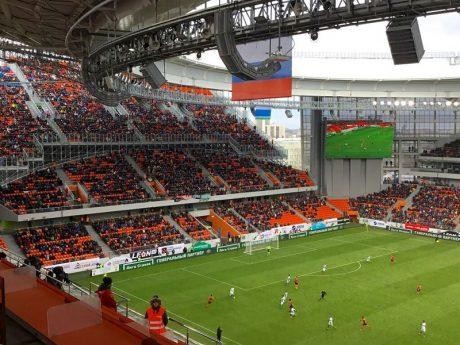 Ekaterinburg Arena powered by Outline's Stadia Series loudspeakers