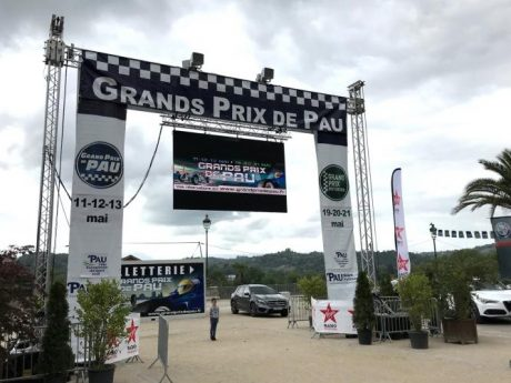 Entrance to Grand Prix de Pau
