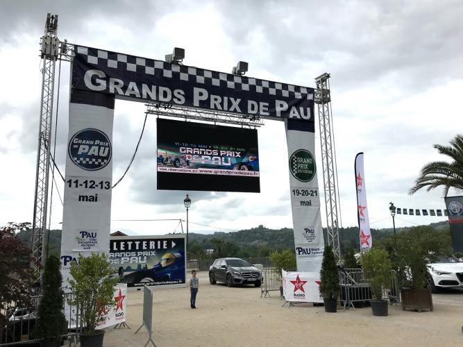 Entrance to Grand Prix de Pau
