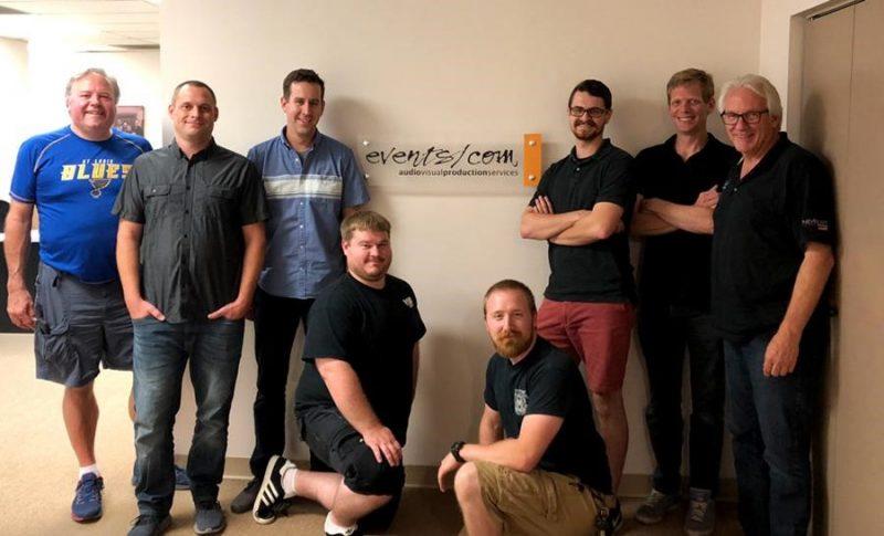 Events/com Team Training with VUE