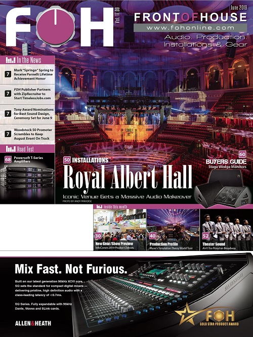 New Gear « FOH | Front of House Magazine