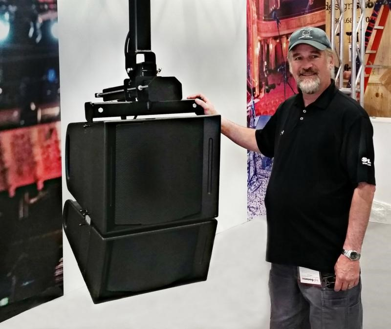 Gunness with Fulcrum passive cardioid FLS115 and FL283 Line Array Modules