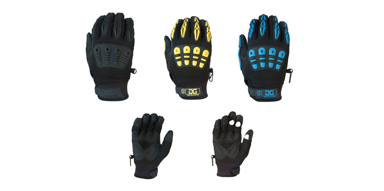 Gig Gear Offers Customized Gig Gloves