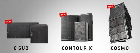 C Sub, Contour X and Cosmo