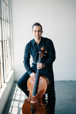 Cellist Jacob Szekely uses Sensaphonics 3D AARO to monitor on big tours, in small clubs, and while rehearsing.