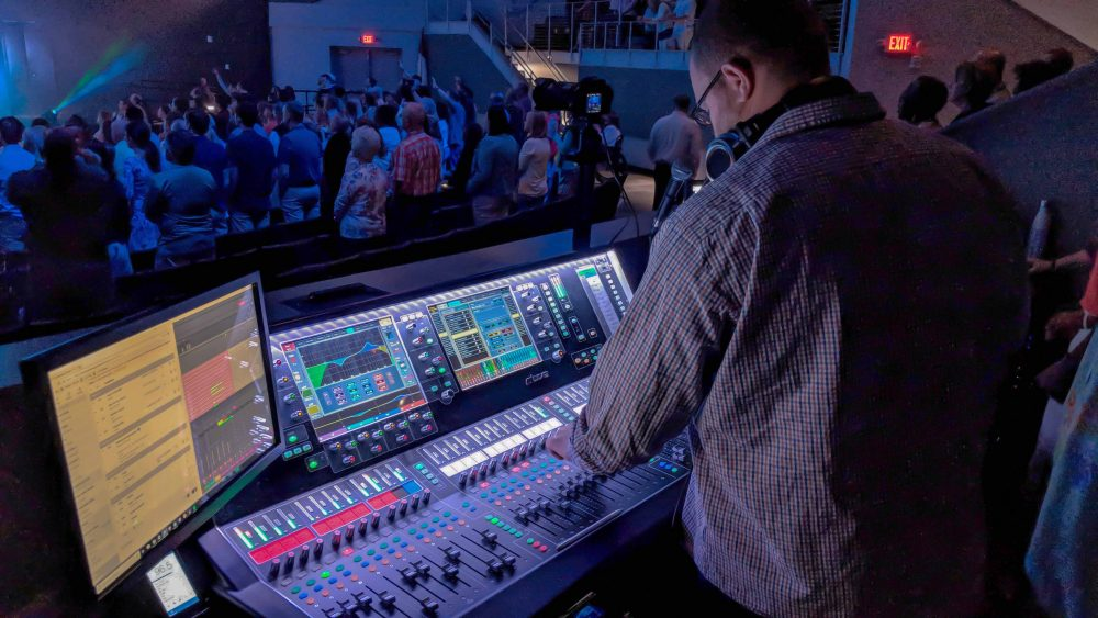 Jim Bodine Mixes FOH on the Allen Heath dLive S7000 Surface