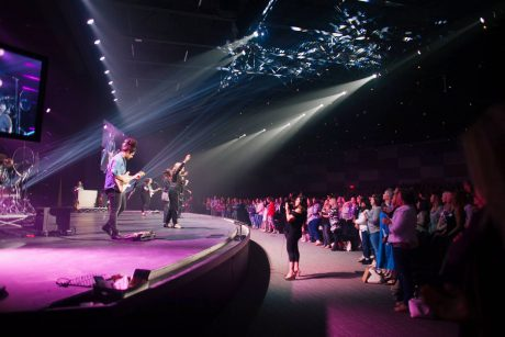 Worship musicians at Hope Fellowship Church's new Frisco East campus are using the KLANG:fabrik 3D in-ear monitor mixing system for services
