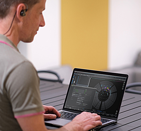 L-ISA Studio software lets sound creators formulate multidimensional audio wherever and whenever they are ready to create