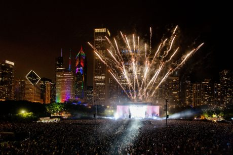 Lollapalooza's 2018 Chicago festival drew more than 100,000 fans to Grant Park each day (photo credit: Charles Reagan Hackleman)