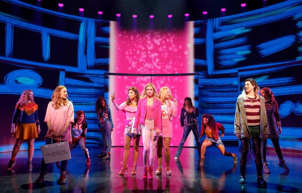 Tina Fey's Mean Girls earned a dozen nominations for this year's Tony Awards (photo credit: Joan Marcus)