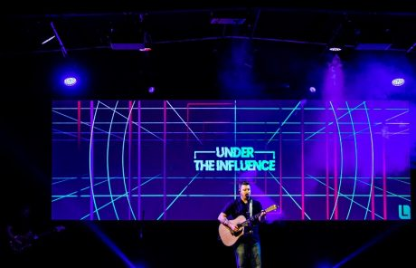 """The church is based in a large facility that originally served as a manufacturing warehouse with """"a variety of acoustic challenges in a space that wasn't designed as a worship sanctuary."""