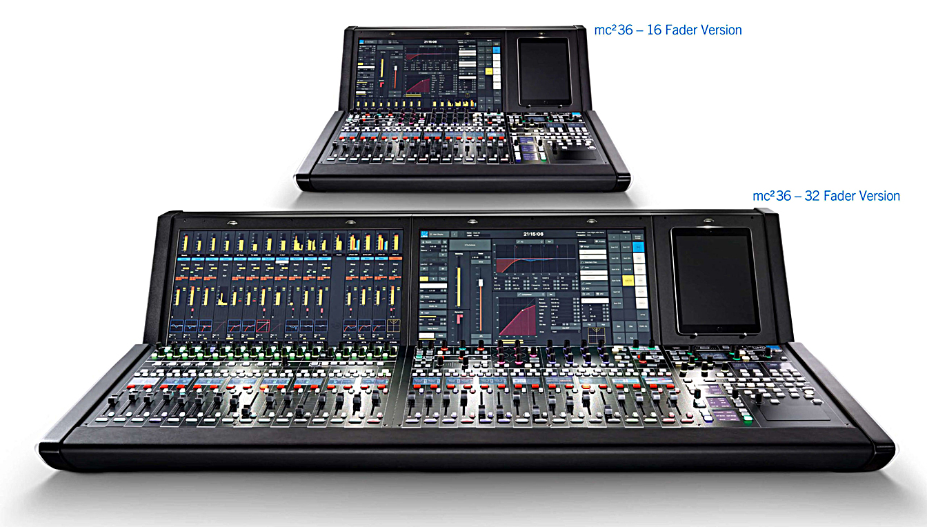 The new A__UHD Core Phase II engine and mc²36 models deliver biggest mixing power in the smallest footprints
