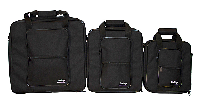 The new weather-resistant bags fit most 10-, 12- and 16-inch mixers