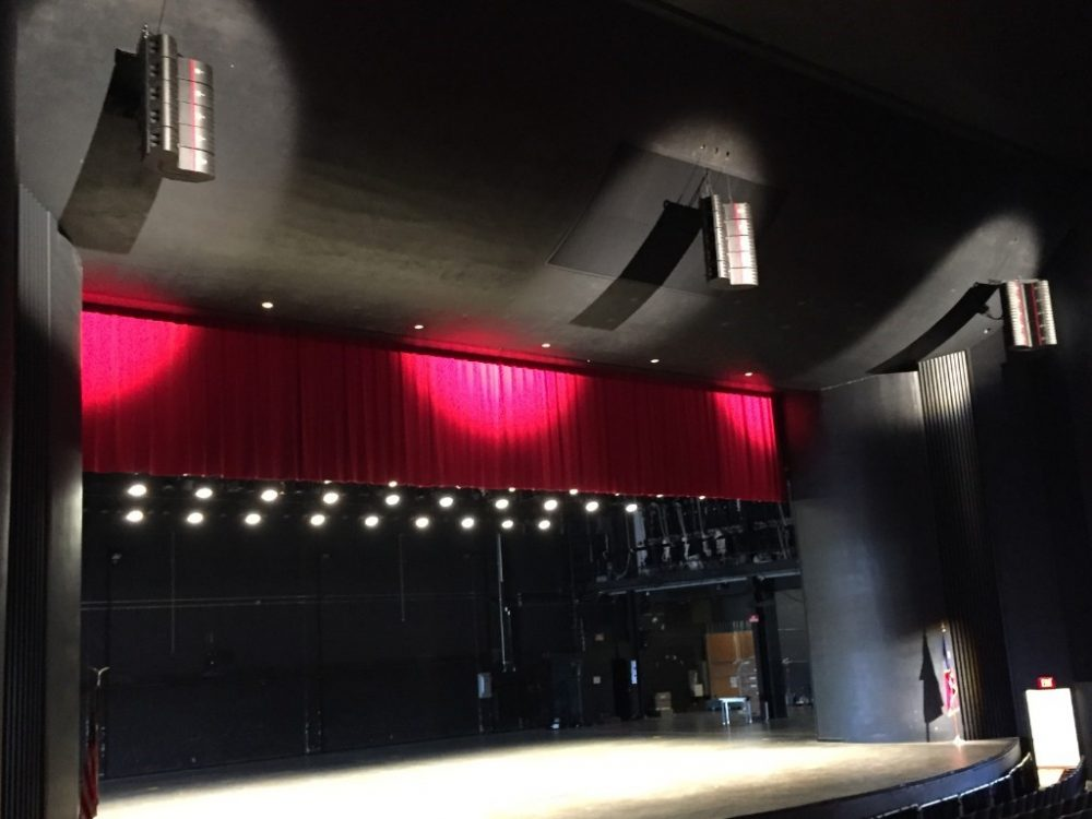 The new system is a left-center-right configuration made up of five EAW Anna modules each, hung 30 feet off the floor providing clean and even coverage throughout the venue.