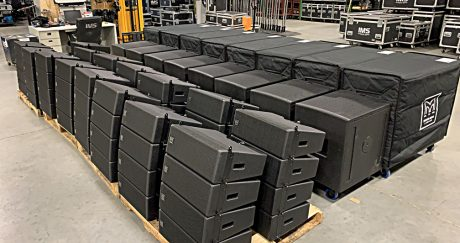 IMS Technology Services purchased 60 Martin Audio Wavefront Precision Mini (WPM) cabinets along with SX118 and SX218 subs, and iK81 and iK42 amplifiers.