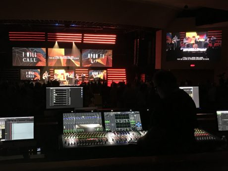 Audio quality, an increasing I/O capacity with a networked infrastructure, the need to manage routing for multiple campuses, recording facilities and multiple language broadcasts were key considerations in the decision to upgrade.