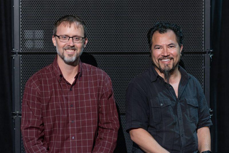 Michael Weirich (l) & Marc Lopez (r)