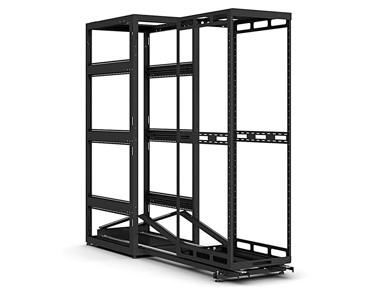 Part of the AXS Family of Slide-Out Racks, the AXS-IR is OPM-Certified and Seismically Rated