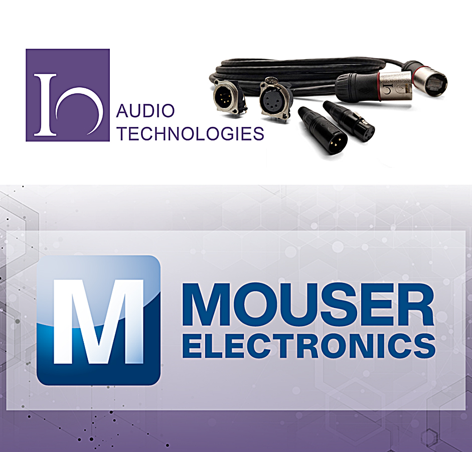 Partnership brings Io Audio Technologies' complete line of cable assemblies and connectors to the Mouser distribution fleet