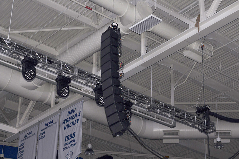 Clegg Sound Provides NEXO for UNH Honors Convocation « FOH | Front
