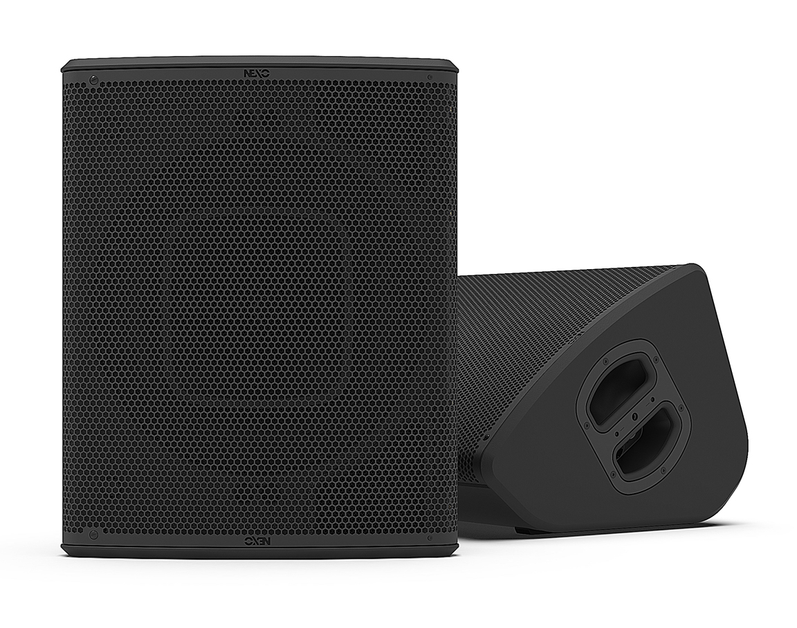 The Nexo P15 and L18 Companion Subwoofer