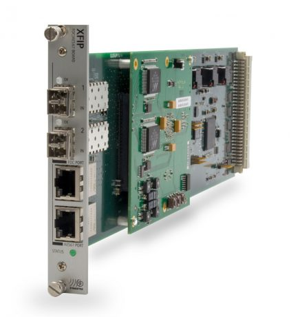 NEXUS Fiber and IP Interface from Stage Tec