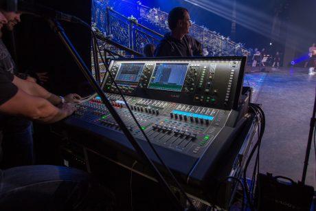 Opera Nova Main Hall Stage Monitors