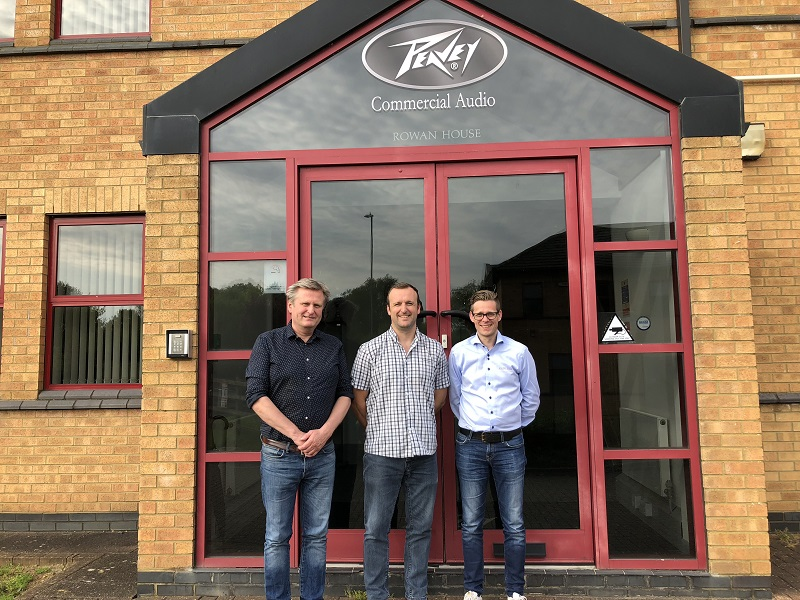 Thorbjorn Danbolt (CEO Audiens); James Kennedy (operations manager, PCA); Are Tomter Hansen (dept. manager, Audiens)