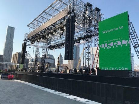 The Howard Hughes Corporation worked with SIA Acoustics who specified an EAW Adaptive System, installed by Anderson Audio and TMG Systems, to deliver pristine audio quality while keeping the sound contained to the rooftop listening area.