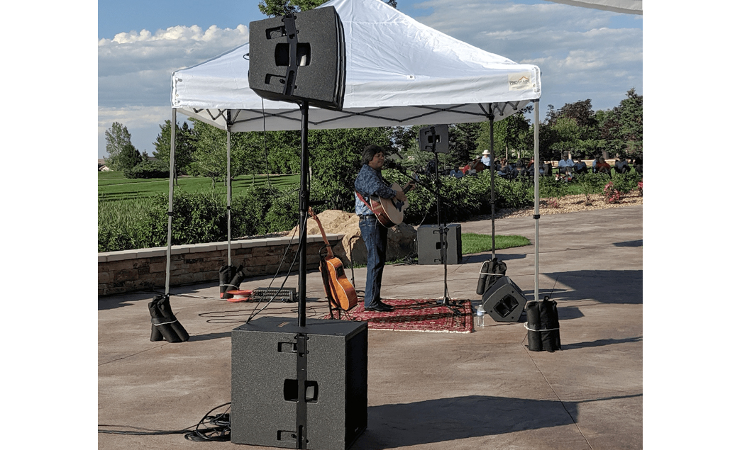 Anthem Ranch uses its PreSonus CDL12 loudspeakers, CDL18 subwoofers, and ULT12 monitors indoors and out.