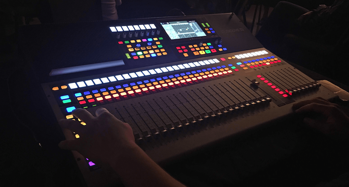 Equalized Productions relies on PreSonus StudioLive 32 digital mixers for small festivals and ballroom shows.