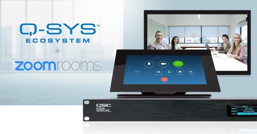 Q-SYS Ecosystem + Zoom Rooms