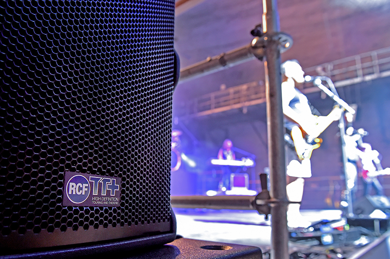 RCF HDL 30-A Line Array System Deployed for Underground