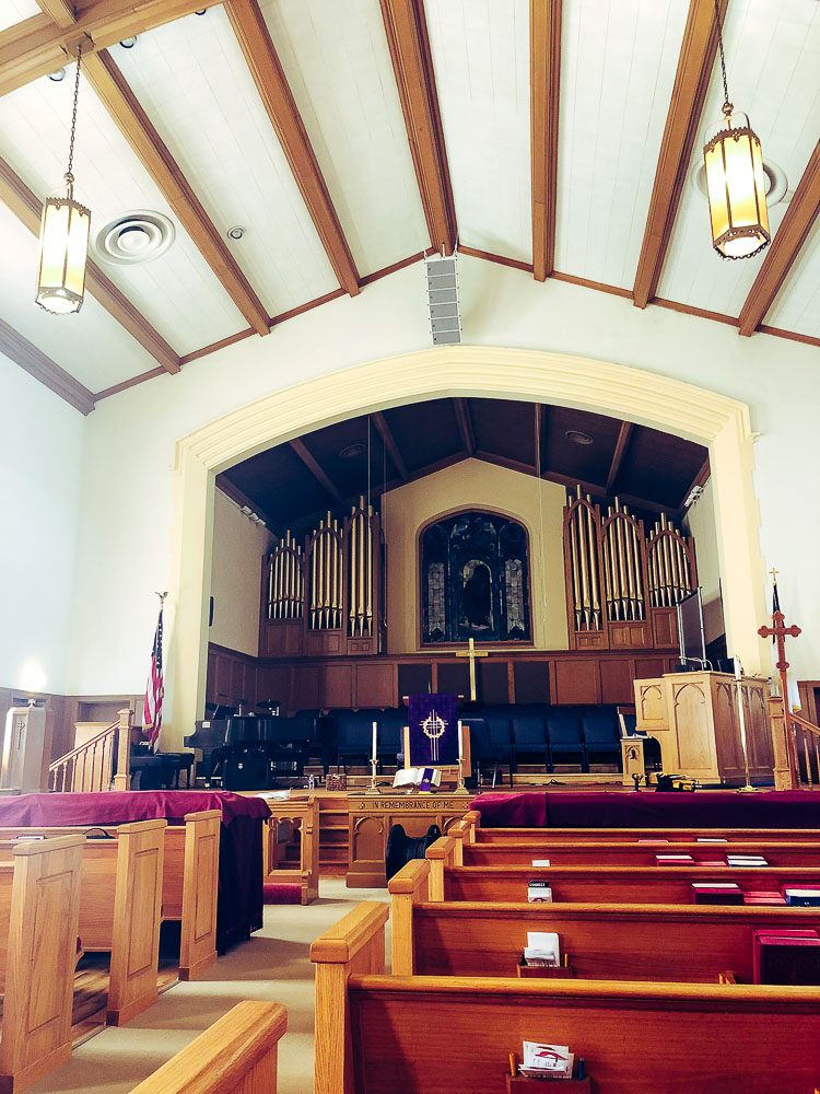 Texas Methodist Church Installs RCF Speakers « FOH | Front