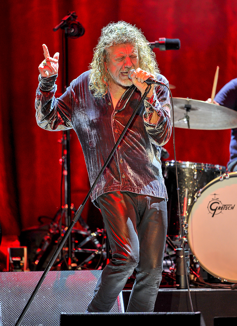 Robert Plant Carry Fire Tour 171 Foh Front Of House Magazine