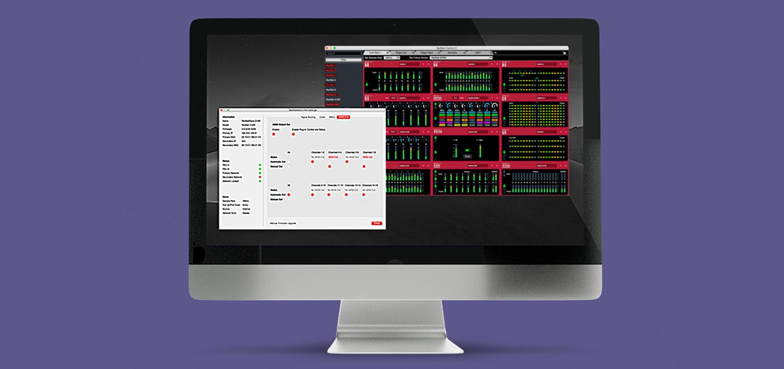 Focusrite Pro's RedNet Control 2.4